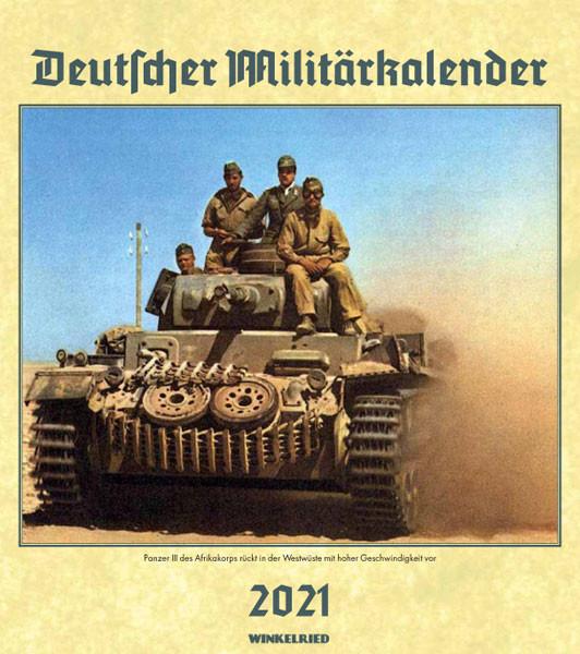 Deutscher Militärkalender 2021 - 50144
