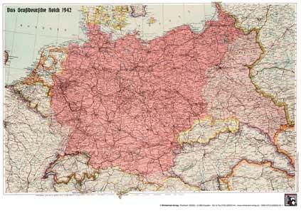Das Großdeutsche Reich 1942