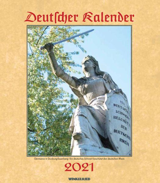 Deutscher Kalender 2021 - 50145