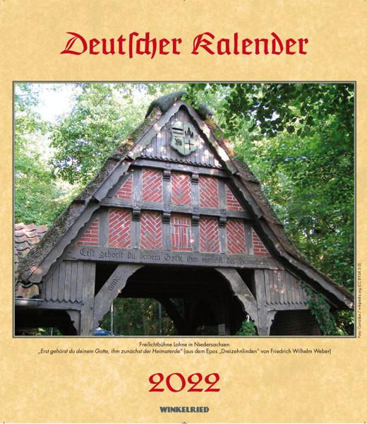 Deutscher Kalender 2022